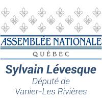 Sylvain Lévesque député de Vanier-les Rrivières